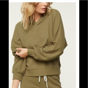 O'Neill Tamarack hooded pullover in olive